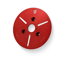 Couvercle Plaque Pression Cnc Racing Spa01 Rouge