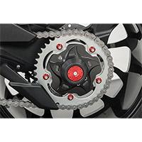 Juego de tuercas CNC Racing DA385 M8X1.25 negras