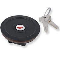 Cnc Racing Tsu01 Key Lock Tank Plug Black