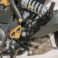 Cnc Racing Pedane Regolabili Pilota Passeggero Ducati Scrambler