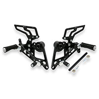 Cnc Racing Rear Sets Ducati Hypermotard Black