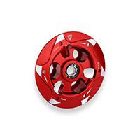 Piattello Spingidisco Cnc Racing Sp200 Bicolor Rosso
