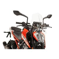 Puig Naked N.g. Sport Screen Ktm 125 Duke 17-18 Clear