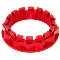Ducabike Nut Sprocket Carrier Ducati Motor Red