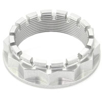 Ducabike Nut Sprocket Carrier Ducati Motor Silver