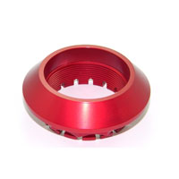 Ducabike Rear Wheel Nut Ducati Motor Red