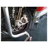 Ducabike Brake Plate Radiator Grey