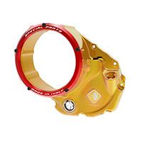 Ducabike 3d Evo Ccdv05 Clutch Cover Gold Red