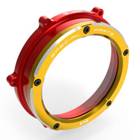 Clutch Cover Ducabike Panigale V4 Red Gold