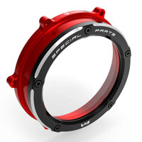 Clutch Cover Ducabike Panigale V4 Red Black