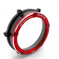 Clutch Cover Ducabike Panigale V4 Clear Red
