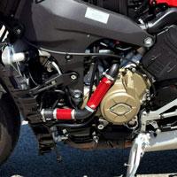 Dissipatori Calore Ducati V4 Sfv4 Rosso