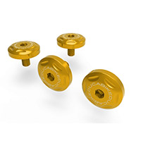 Ducabike Kvt01 Mtsv4 Windshield Screws Gold