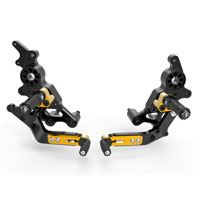 Ducabike Rear Sets Hypermotard 950 Gold