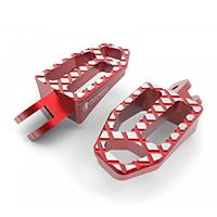 Ducabike Ppdv08 Pilot Footpegs Red