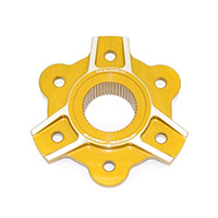 Ducabike Pc6f05 Sprocket Carrier Gold
