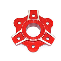 Ducabike Pc6f05 Sprocket Carrier Red