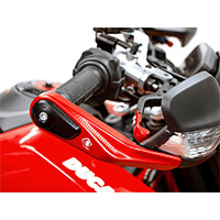 Ducabike Spm02 Handguards Protection Black Red