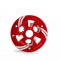 Plaque De Pression Ducabike V4 - Superleggera Rouge