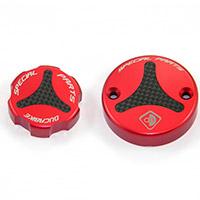 Tappi Serbatoio Liquidi Ducabike Tls01 Rosso