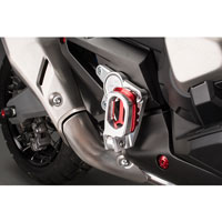 Lightech Rear Sets With Fold Up Footpeg Honda Xadv (17) Red