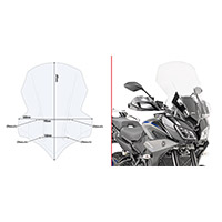 Givi 2139dt Windscreen Clear