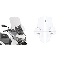 Givi 5132dt Windscreen Clear Bmw C400 Gt