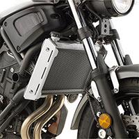Givi Protezione Specifica Pr2126 Radiatore Acciaio Inox Verniciato Nero