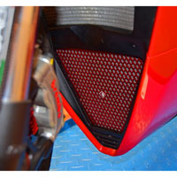 Oil Radiator Guard Ducabike Panigale V4 Red