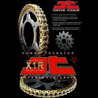 Kawasaki Zx-6r (zx600) Ninja Jt Sprocket Crown Chain Kit