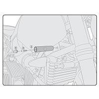 Givi Kit Di Attacchi Specifico Per Faretti S310/s320 Bmw R-nine T