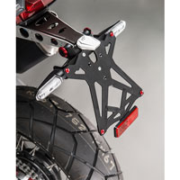 Lightech Porta Targa Regolabile Con Catadiottro Honda X-adv 750 (17)