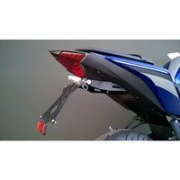 LIGHTECH ADJUSTABLE LICENSE PLATE BRACKETS WITH RETROREFLECTOR YAMAHA R3