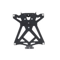 Lightech Adjustable License Plate Brackets - Aprilia Dorsoduro 900 (17-18)