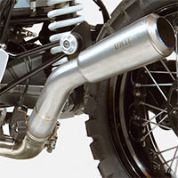 Unit Garage Low Pipe Ninet In Titanium