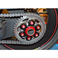 Sprocket Carrier Ducati V4 Bicolor Ducabike Black