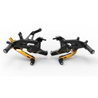 Ducabike Adjustable Rearset Sbk Panigale V4 Gold