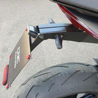 Cnc Racing Porta Targa Regolabile Aprilia Rs660