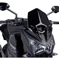 Puig Cupolino Naked New Generation Kawasaki Z800 13-16 Nero