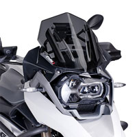 Puig Windscreen Racing Bmw R1200 Gs Adventure 2014 Dark Tint