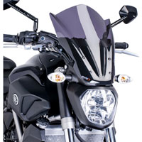 Puig Cupolino Naked New Generation Touring Yamaha Mt-07 14-16 Fum� Scuro