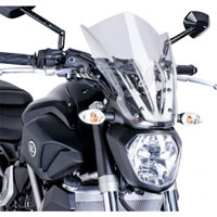 Puig Cupolino Naked New Generation Touring Yamaha Mt-07 14-16 Trasp