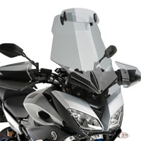 Puig Touring Windscreen With Visor Yamaha Mt-09 Tracer 2015 Light Tint