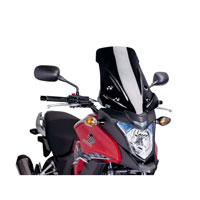 Puig Touring Windscreen For Honda Cb 500x (13-14) Black