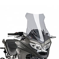 Touring Puig Windshield For Honda Crossrunner Year 15\'-16\' Light Fumé Colour