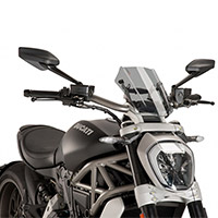 Puig 8921h Sport Windscreen Light Smoke X Diavel