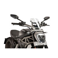 Puig Windshield New Generation Sport For Ducati X Diavel 2016