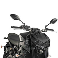 Puig 9507f Front Cover Dark Smoked Yamaha Mt09