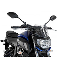 Puig Naked Sport Clear Screen Yamaha Mt07
