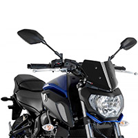 Cupolino Puig Naked Sport Nero Yamaha Mt07